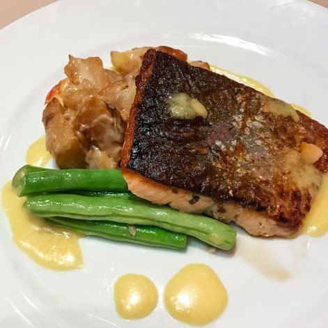 Pan-seared catch of the day