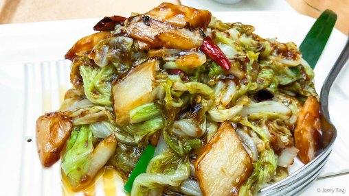 花家白菜 signature sautéed chinese cabbage with hot chilli