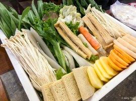 蔬菜拼盘 vegetable platter